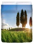 Green Tuscany Duvet Cover