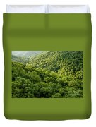 Green Valley Duvet Cover