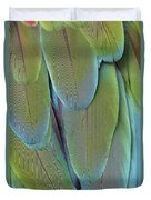 Green-winged Macaw #4 Duvet Cover