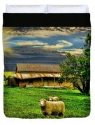 Greener Pastures Duvet Cover