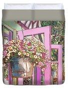 Greenhouse Doors Duvet Cover
