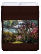 Greenhouse - The Greenhouse Duvet Cover