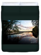 Greenlake Tranquility Duvet Cover