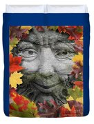 Greenman Duvet Cover