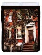 Greenwich Village Charm Duvet Cover