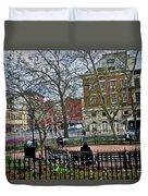 Greenwich Village New York City Duvet Cover