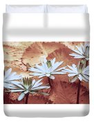 Greeting The Day Duvet Cover