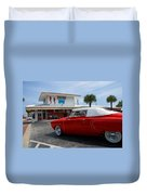 Greetings From Florida Duvet Cover