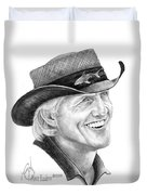 Greg Norman Duvet Cover
