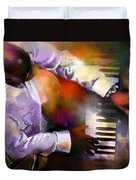 Greg Phillinganes From Toto Duvet Cover