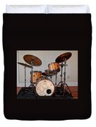 Gretsch Round Badge Duvet Cover
