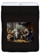 Greuze: The Village Bride Duvet Cover