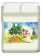 Greve In Chianti In Italy 01 Duvet Cover