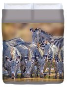 Grevy Zebra Party  7528 Duvet Cover