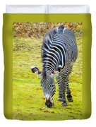 Grevys Zebra Right Duvet Cover