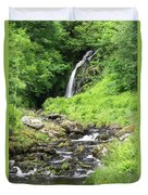 Grey Mares Tail Duvet Cover