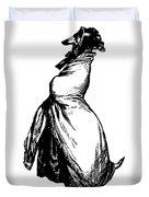 Greyhound Grandville Transparent Background Duvet Cover