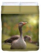 Greylag Goose Duvet Cover