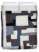Grids  Duvet Cover