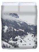Grindelwald In Winter 3 Duvet Cover
