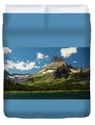 Grinell Mountain Duvet Cover