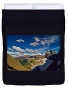 Grinnell Glacier Overlook Duvet Cover