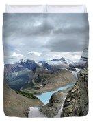 Grinnell Glacier Overlook - Glacier National Park Duvet Cover