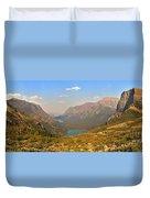Grinnell Glacier Trail Glacier National Park Duvet Cover