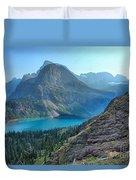 Grinnell Lake - Many Glacier Duvet Cover