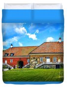 Gripsholm Castle Keep Duvet Cover