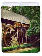 Gristmill - Charlottesville Virginia Duvet Cover