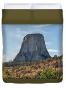 Grizzly Bear Lodge Duvet Cover
