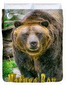 Grizzly Bear Nature Boy    Duvet Cover