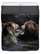 Grizzly Bears Duvet Cover