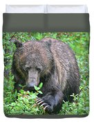 Grizzly Claws Duvet Cover