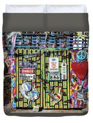 Groovy Signs Duvet Cover