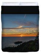Gros Cap Sunset Duvet Cover