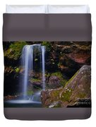 Grotto Falls Duvet Cover