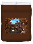 Grotto Of Redemption In Iowa Duvet Cover