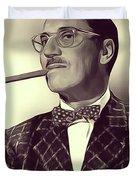 Groucho Marx Duvet Cover