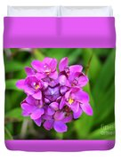 Ground Orchid Duvet Cover