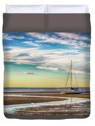 Grounded On The Beach Duvet Cover