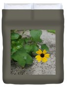 Grounded Sunflower Duvet Cover