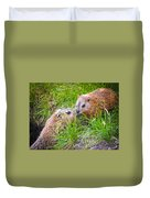 Groundhog Mother Love Duvet Cover