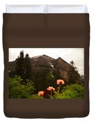 Grounds At Lake Louise Duvet Cover