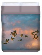 Group Flight Duvet Cover