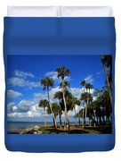 Group Of Palms Duvet Cover