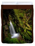 Grove Of Life Duvet Cover by Mike Reid