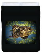 Growing Up Gator, No. 33 Duvet Cover