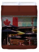 Growling Gator Canada 150 Two Duvet Cover